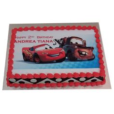 A huge variety of Mcqueen Car Cake is available at YummyCake in the best price, designs, and flavors. Happy 2nd Birthday, Birthday Cake, Mcqueen Car Cake, Cake Online, Cars Birthday Parties, Chocolate Truffles, Cake Designs, Cartoon Cakes, Shop