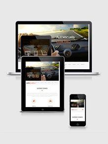 Diseño para Autoescuela http://autoescuela3.belomar.es/