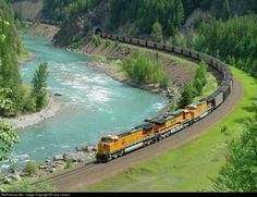 RailPictures.Net Photo: BNSF 5329 BNSF Railway GE C44-9W (Dash 9-44CW) at Belton, Montana by Larry Larson