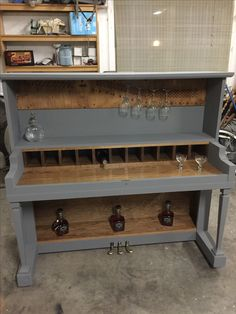 piano recreated into a classy bar by ingrained custom designs! Piano Crafts, Painted Pianos, Old Pianos, Man Cave Home Bar, Palette, Repurposed Furniture, Bars For Home, Furniture Makeover, 1920s Bar