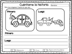 Cuaderno de ESCRITURA CREATIVA Causa-Efecto - Imagenes Educativas Privacy Folders, 1st Grade Writing, Cause And Effect, Grade 1, Creative Writing, Writing Prompts, Spanish, Classroom, Teacher