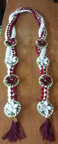 Graduation leis for my son.
