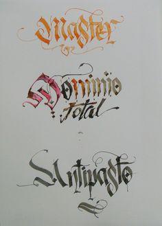 Calligraphy Types IX