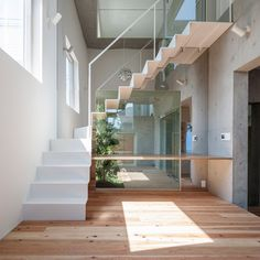 Gardens are interspersed with rooms inside House-K by K2YT