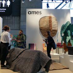 Der Messestand von Ames auf der Maison & Objet 2019. Art Deco Stil, Start Ups, Paris, Dining Ware, Ground Covering, Asylum, Wallpapers, Cooking Recipes, Montmartre Paris