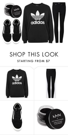 """""""a walk in the park"""" by j-n-a ❤ liked on Polyvore featuring adidas, Vans, NYX and Newyork"""