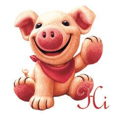 Little Piggy Cute Photo: This Photo was uploaded by prettygirlclass. Find other Little Piggy Cute pictures and photos or upload your own with Photobucke. This Little Piggy, Little Pigs, Gifs Lindos, Pig Drawing, Pig Art, Cute Piggies, Baby Pigs, Glitter Graphics, Animation