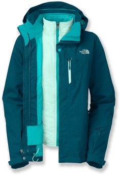 Stylish and versatile—The North Face Cheakamus Triclimate 3-in-1 Insulated Jacket - Women's. #REIGifts