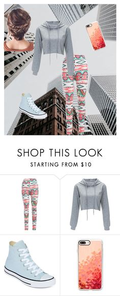 """Untitled #62"" by cant-find-a-username ❤ liked on Polyvore featuring Converse and Casetify"