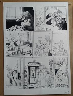 Rossi, Christian - Original plate (page 21) - XIII Mystery vol. 9 - Felicity Brown - W.B.