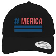 'Merica Cotton Twill Hat