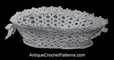 Easy Crochet Basket - I don't like thread crochet, but this might be worth it.