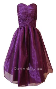 #Valentines #AdoreWe #Dorris Wedding - #Dorris Wedding Sweetheart A-line Mini Dress With Ruched Bodice - AdoreWe.com