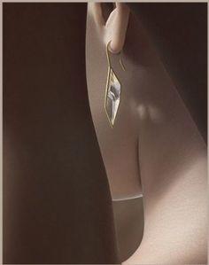 Antonio Bernardo - earrings Prisma - Edelgedacht Gent - De Pinte…