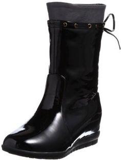 ShopStyle(ショップスタイル): [ウォークウイズレイン] WALK WITH RAIN バックリボンレインブーツ W2304 BL/