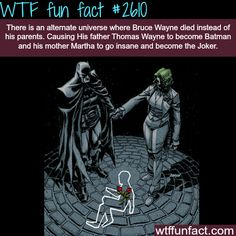 Alternate universe for batman where Bruce Wayne dies instead of his parents -WTF funfacts