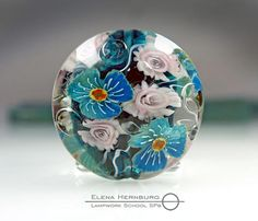 Murini of high complexity, made at a high quality level. COE 104 All my murini are annealed in a kiln for durability. Price for one stick of 10 cm . Roses are here https://www.etsy.com/ru/listing/511183196/murini-lampwork?ref=shop_home_active_6