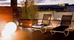 iluminacion empotrada en techo terraza - Buscar con Google