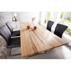 Nowoczesny, drewniany stół do salonu czy jadalni. Meble Bydgoszcz.