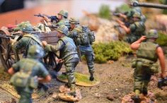 Military Miniatures HQ – Vietnam War Diorama and Toy Soldiers