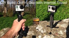 This is a great #DIY #GoPro project. This is a grip made from a bike handle that features an internal, pop out tripod. Resourceful! http://www.heyisiton.com/diy-gopro/diy-gopro-poles/slick-grip-tripod/ https://www.youtube.com/watch?v=qcD3LmEmhSY