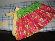 Little girl skirt- would love to make skirts for the girls!