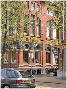 Nieuwsblad van het Noorden GRONINGEN Art Nouveau, Art Deco, Holland Netherlands, The Province, My Town, Travel Memories, Exploring, Dutch, Gem