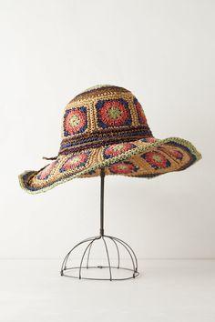 Crocheted Sonesta Hat - Anthropologie.com