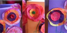 Mother's Day Craft for Kids to Make: Flower Cards