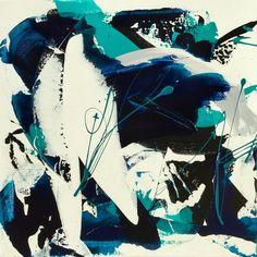 """Céline Weber, """"Deep"""" 50X50cm on ArtStack #celine-weber #art"""