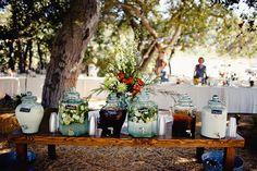 An idea for outdoor party