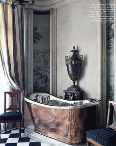gilded-age Paris  bath
