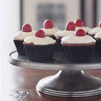 Chocolate Red-Wine Cupcakes with Mascarpone Icing | Rachael Ray