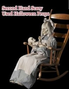 Used Halloween props, a fraction of the price of new Halloween animatronics