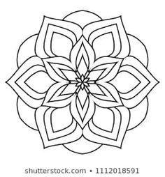 Easy Mandala Drawing, Simple Mandala, Mandala Art Lesson, Mandala Artwork, Mandala Print, Mandala Pattern, Mandala Design, Pattern Art, Heart Coloring Pages