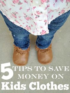 5 Tips to save money on Kids Clothes