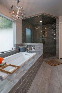 43 good small master bathroom remodel ideas 30 - For the Home - Bathroom Decor Modern Master Bathroom, Small Bathroom, Bathroom Ideas, Master Bathrooms, Bathroom Organization, Bathroom Mirrors, Budget Bathroom, Basement Bathroom, Bathroom Faucets