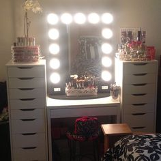 Closet Vanity Room Makeup Storage Organization Organisation Planner
