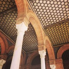 Plaza de espana - amazing place, amazing city.  #ceiling #detail #spain #sevilla #architecture #design #Friday #love #inspo#rustic #gold #pretty #interiors#interiordesign #beauty #amazing#inspiration #instadaily #cool #beautiful#decor #home #vibes #instagood #art