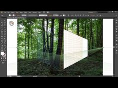 ▶ How to Use Perspective Grid Tool in Adobe Illustrator CS6 - YouTube