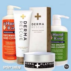 Got skin? Kinderma products are here to cleanse, exfoliate, and moisturize. #skincare