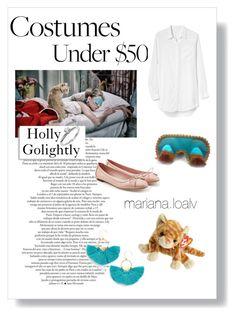 """Holly Golightly 💤💍"" by marianaloalv on Polyvore featuring moda, Tiffany & Co., Gap, Salvatore Ferragamo y Serefina"