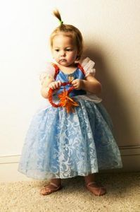 How to Make a Petticoat Slip for a Little Girl thumbnail