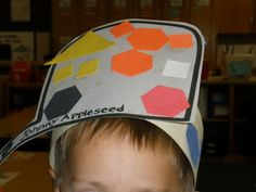 Math Sorting, Johnny Appleseed hats