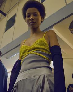 """I just wanted something that had this element of ease,"" said @jonathan.anderson, backstage after the show which was about the ""style odyssey"" of the @jw_anderson woman. 📷 @anabel_nll #LFW #AW17"