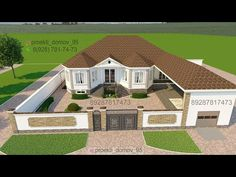 Villa Design, House Design, Casas Containers, Small Backyard Design, Spanish Style Homes, Village Houses, Sims House, Minecraft Houses, Interior Design Kitchen