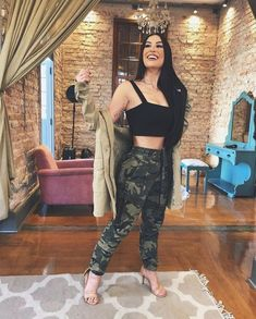 Camo Outfits, Swag Outfits, Girl Outfits, Casual Outfits, Fashion Outfits, Womens Fashion, Tumblr Outfits, Look Chic, Feminine Style