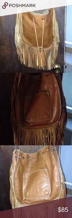 Patricia nash fringe purse Beautiful leather fringe purse. Used 3 times.. Patricia Nash Bags Crossbody Bags