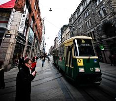 The #tram in #Helsinki for our #Finnish #language week! Check out our Finnish courses in the UK: http://www.cactuslanguage.com/en/languages/finnish.php