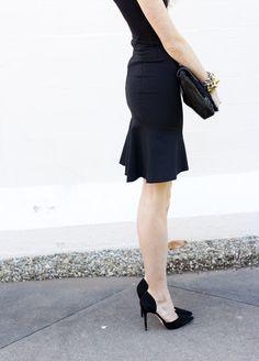 CouldIHaveThat: Love For Stella Stella McCartney dress, Rebecca Minkoff clutch c/o, Jennifer Fisher cuffs, Zara heels, Raen Breslin sunglasses, vintage chain bracelet from Ava + Aliria.